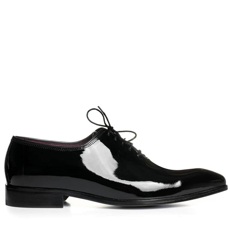 Pantofi de ceremonie lac negru Louis