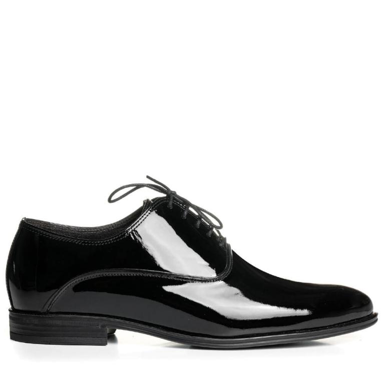 Pantofi de ceremonie lac negru Henri