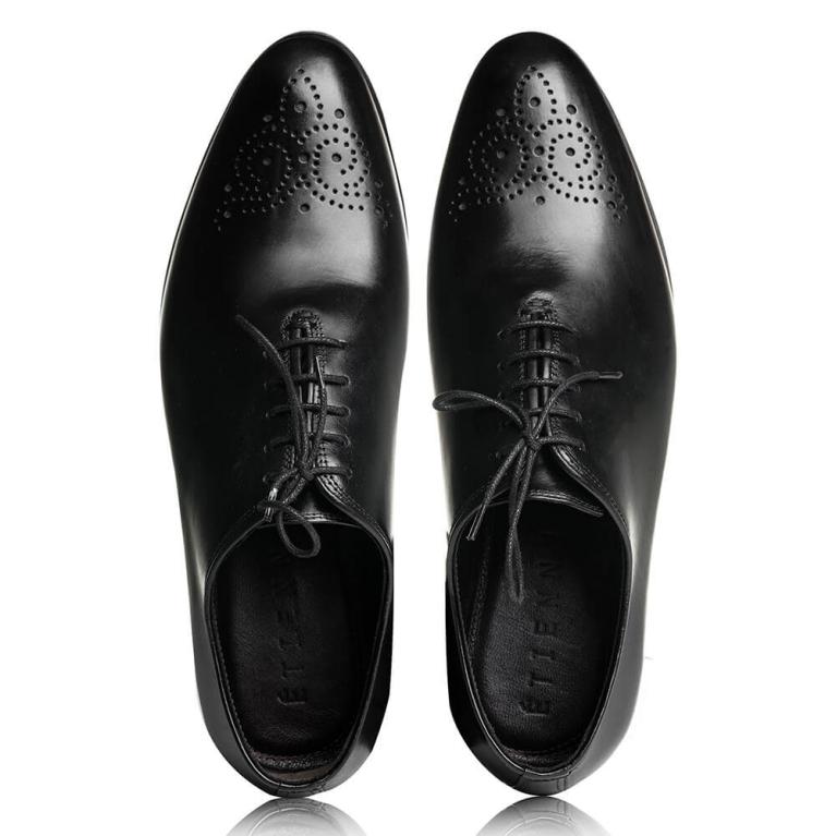 Pantofi eleganti de barbati negri Olivier