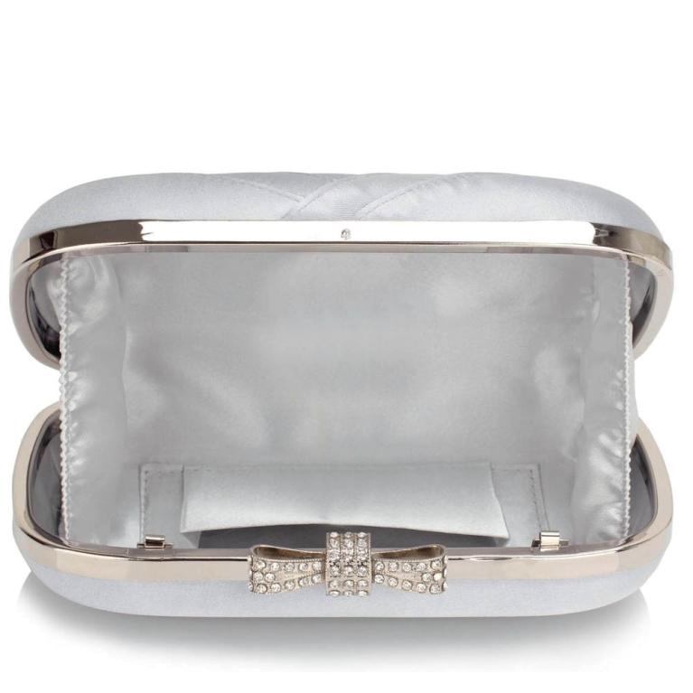 Plic de mireasa saten argintiu Gorgeous