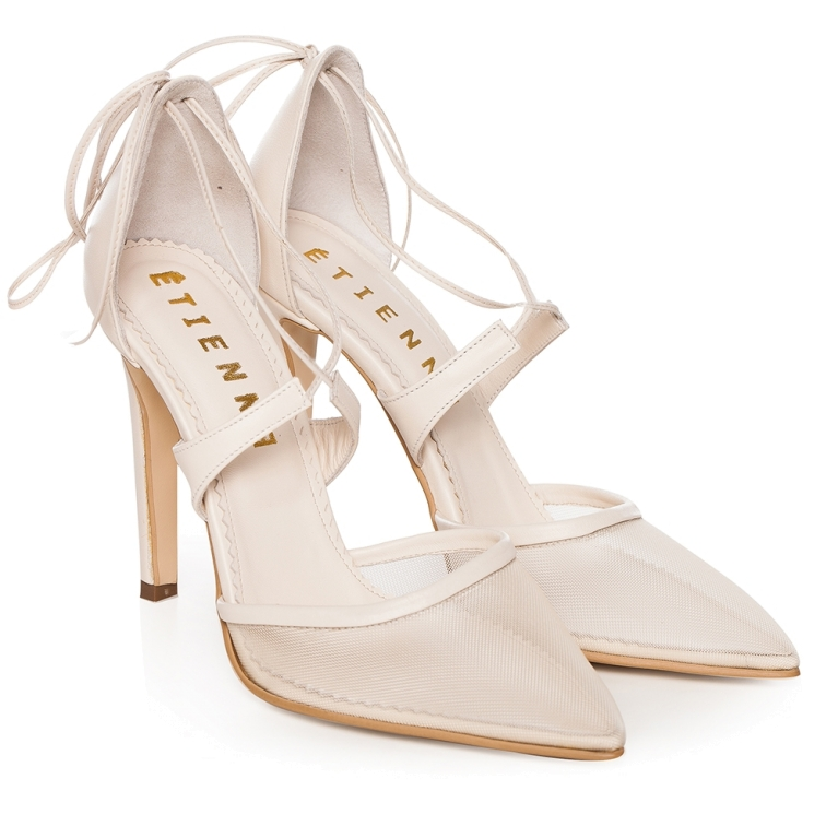 Sandale cu plasa Ivory Charllote