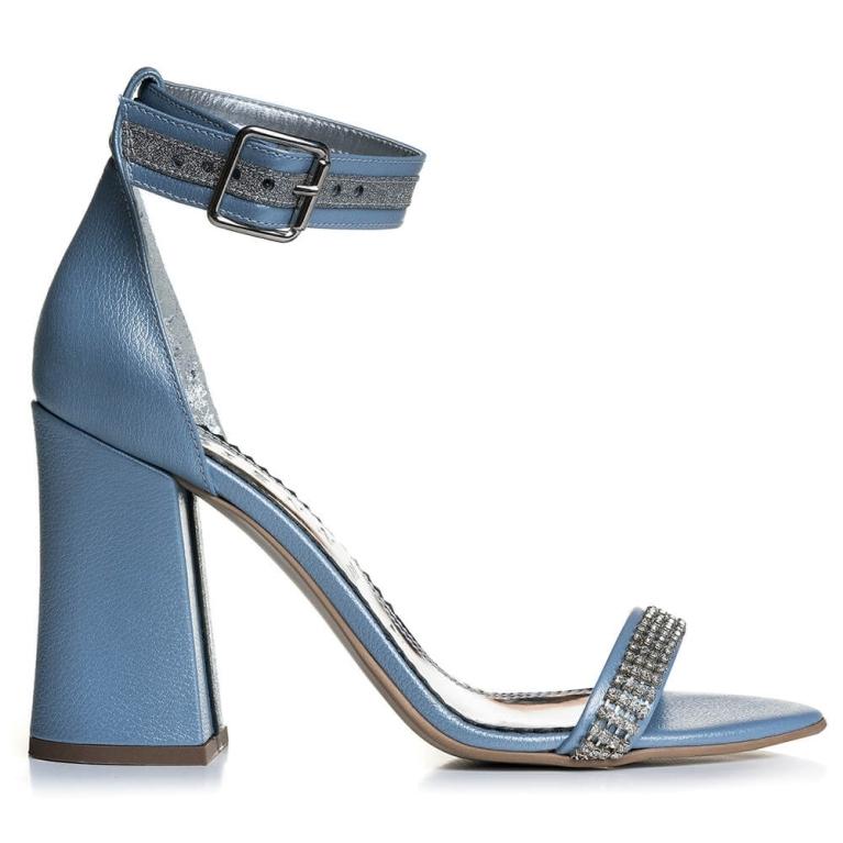 Sandale de ocazie baby blue Mathilde